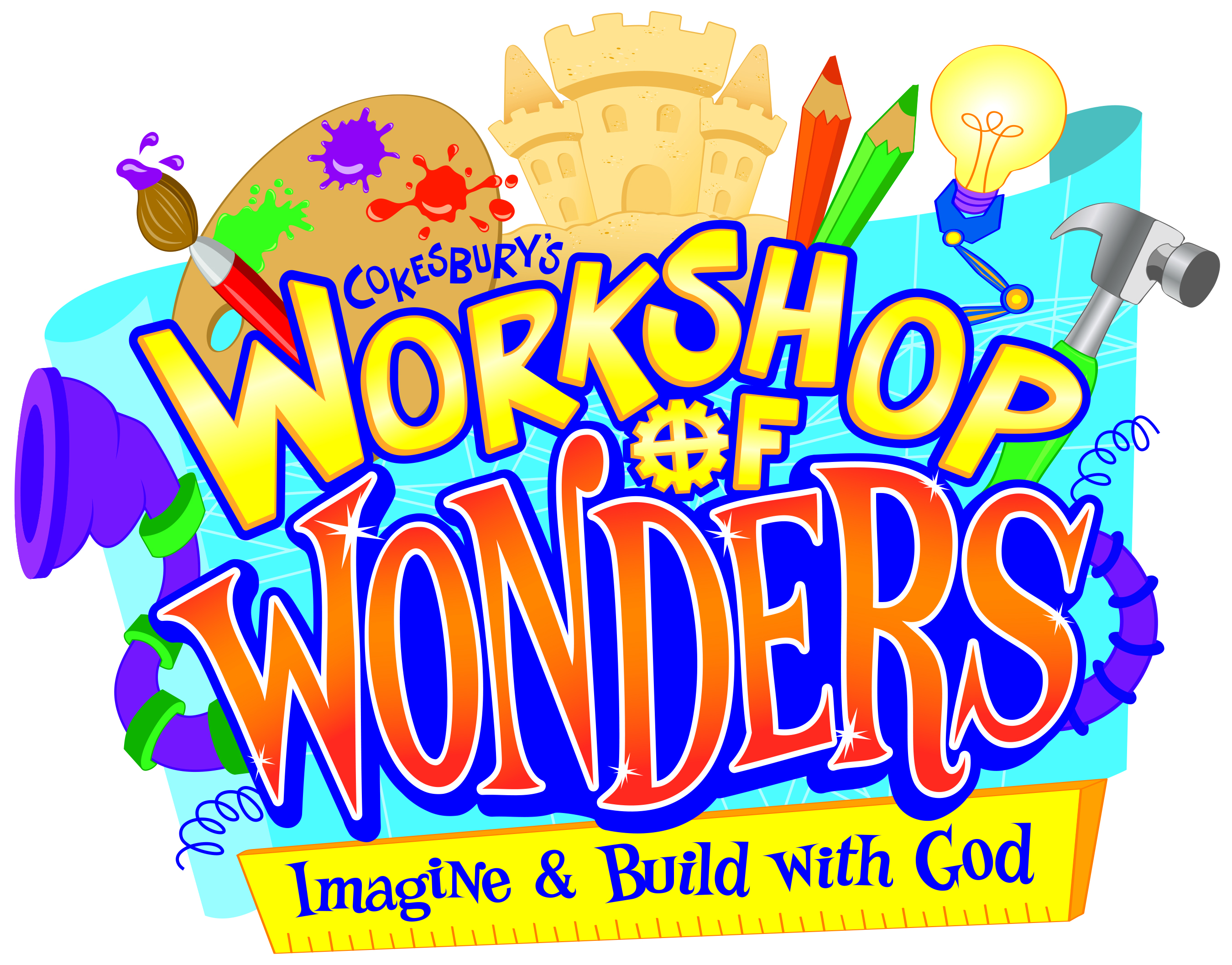 Beacon falls congregational church workshop of wonders vbs for Vacation bible school crafts for adults